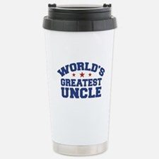 World's Greatest Uncle Stainless Steel Travel Mug