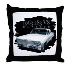 63 Classic Impala Throw Pillow