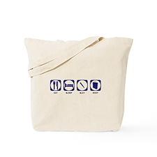 Eat Sleep Slay Shop Tote Bag