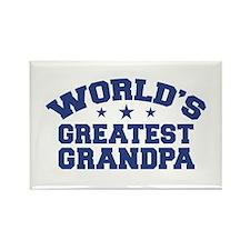 World's Greatest Grandpa Rectangle Magnet
