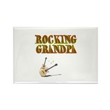 Cute Grandpa rocks Rectangle Magnet
