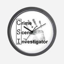 CSI Wall Clock