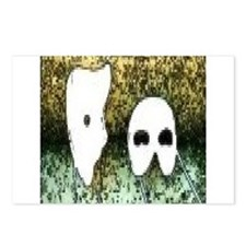 Phantom Mask Postcards (Package of 8)