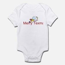 Merry Texmas Angel Infant Bodysuit