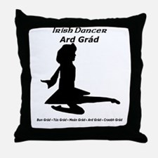 Girl Ard Grád - Throw Pillow