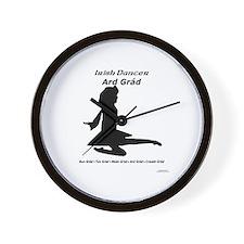 Girl Ard Grád - Wall Clock
