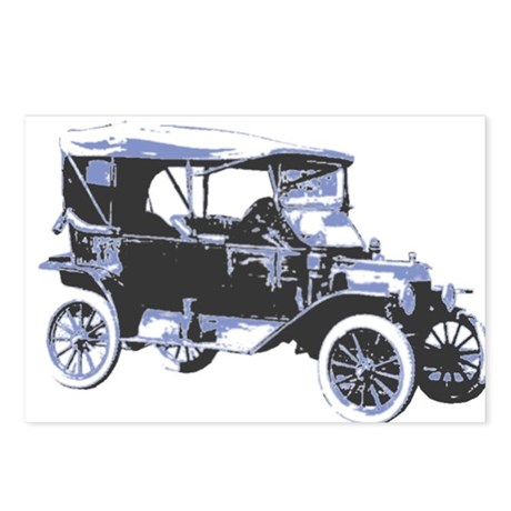 Model T Postcards (Package of 8)