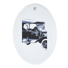 Model T Oval Ornament