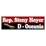 Rep. Steny Hoyer, D-Oceania Bumpersticker
