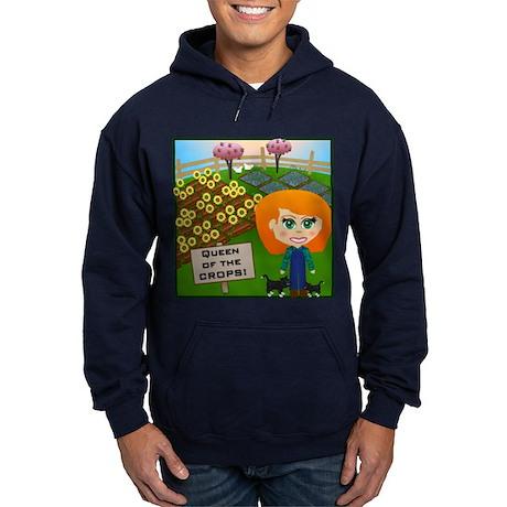 Queen of the Crops Hoodie (dark)