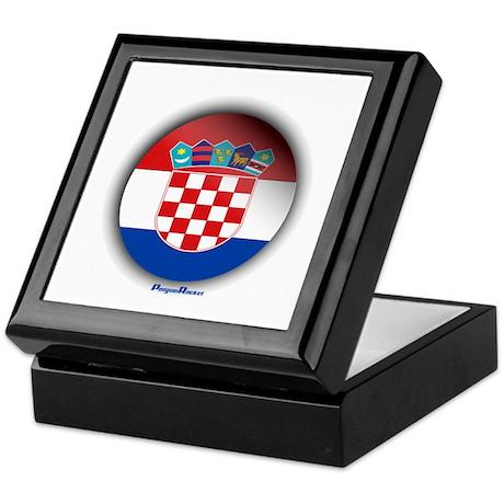 Croatia - Heart Keepsake Box