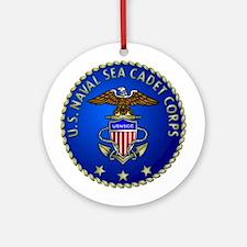 US Naval Sea Cadet Corps Ornament (Round)