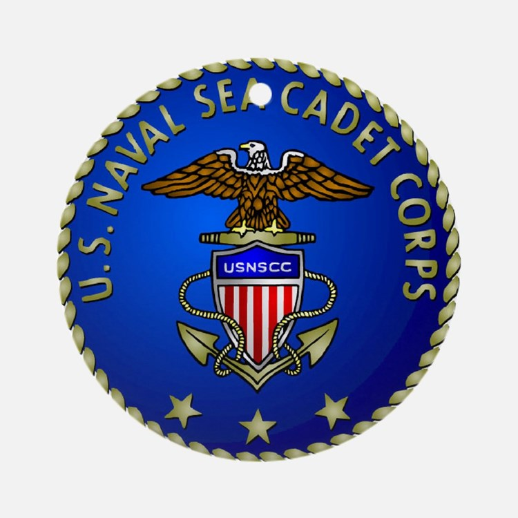 US Naval Sea Cadet Corps Ornament (Round)