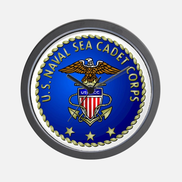 US Naval Sea Cadet Corps Wall Clock