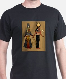 Isis and Nefertiri Black T-Shirt
