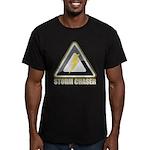 Storm Chaser Lightning Men's Fitted T-Shirt (dark)