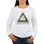 Storm Chaser Lightning Women's Long Sleeve T-Shirt