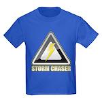 Storm Chaser Lightning Kids Dark T-Shirt