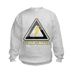 Storm Chaser Lightning Kids Sweatshirt