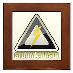 Storm Chaser Lightning Framed Tile