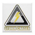 Storm Chaser Lightning Tile Coaster