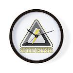 Storm Chaser Lightning Wall Clock