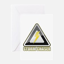 Storm Chaser Lightning Greeting Card