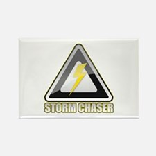 Storm Chaser Lightning Rectangle Magnet