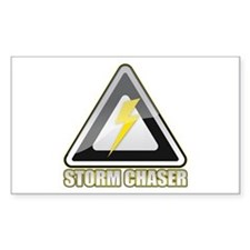 Storm Chaser Lightning Rectangle Decal