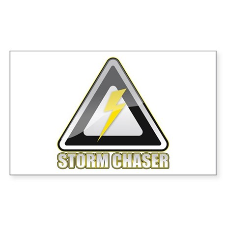 Storm Chaser Lightning Rectangle Sticker