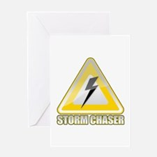 Storm Spotter Lightning Greeting Card