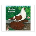 Silesian Swallow Small Poster