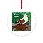 Silesian Swallow Ornament (Round)