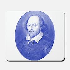 William Shakespeare Blues Mousepad