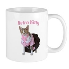 Retro Kitty Mug
