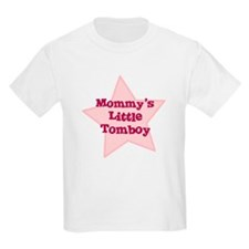Mommy's Little Tomboy Kids T-Shirt
