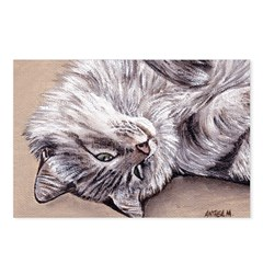 Happy Cat Postcards (Package of 8)