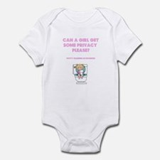 Cute Potty training Infant Bodysuit
