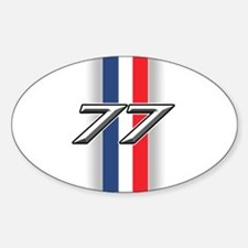 Cars 1977 Oval Decal