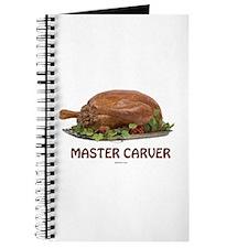 Master Carver Holiday Journal