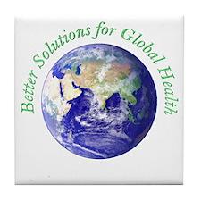 Unique Health promotion Tile Coaster