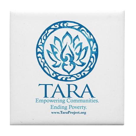 TARA Logo Tile Coaster