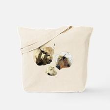 WHITE BUFFALO FAMILY Tote Bag