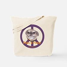Pugs 4 Peace Tote Bag