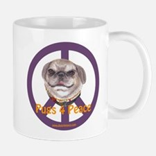 Pugs 4 Peace Mug