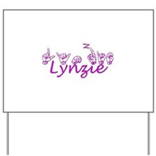 LYNZIE Yard Sign