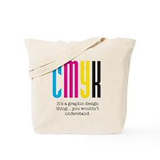 cmyk design thing Tote Bag