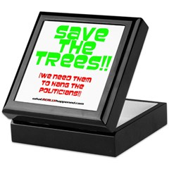SAVE THE TREES!! Keepsake Box