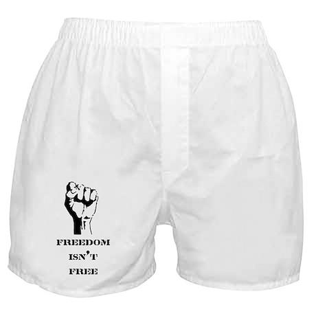Freedom isn't free Boxer Shorts