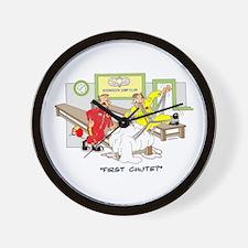 BOONDOCK JUMP CLUB Wall Clock